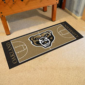 Oakland Basketball Court Runner 30x72