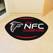 NFL - Atlanta Falcons NFC Champions Football Rug 20.5x32.5
