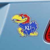 University of Kansas Color Emblem 2.8x3.2