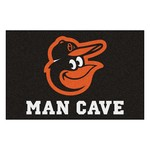 MLB - Balitmore Orioles Man Cave Starter Rug 19x30