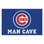 MLB - Chicago Cubs Man Cave Starter Rug 19x30