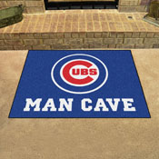 MLB - Chicago Cubs Man Cave All-Star Mat 33.75x42.5