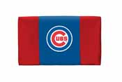 Chicago Cubs Fan Favorite Twin Headboard Microfiber