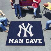 MLB - New York Yankees Man Cave Tailgater Rug 5'x6'
