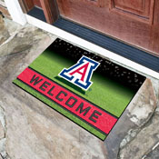 University of Arizona 18x30 Crumb RubberDoor Mat