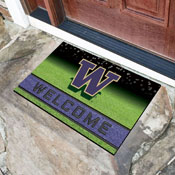 University of Washington 18x30 Crumb RubberDoor Mat