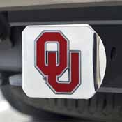 University of Oklahoma Color Hitch Chrome 3.4x4