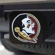 Florida State University Color Hitch Black 3.4x4