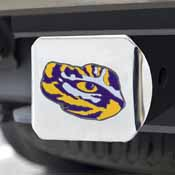 Louisiana State University Color Hitch Chrome 3.4x4