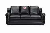 Boston Red Sox Coach Leather Sofa