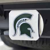 Michigan State University Color Hitch Chrome 3.4x4