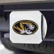 University of Missouri Color Hitch Chrome 3.4x4
