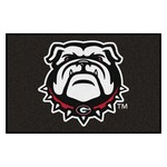 Georgia Black New Bulldog Starter Rug 19x30