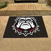 Georgia Black New Bulldog All-Star Mat 33.75x42.5
