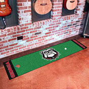 Georgia Black New Bulldog Putting Green Runner 18x72
