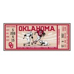 University of Oklahoma Ticket Runner 30x72