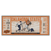 Oklahoma State University Ticket Runner 30x72
