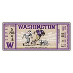 University of Washington Ticket Runner 30x72