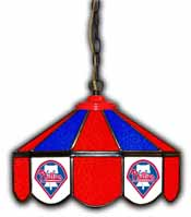 Philadelphia Phillies 14-in. Stained Glass Pub Light