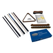 Imperial Deluxe Billiard Accessory Kit, Antique Walnut