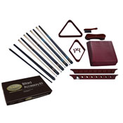 Imperial Premier Billiard Accessory Kit, Mahogany