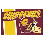 Central Michigan Uniform Starter Rug 19x30