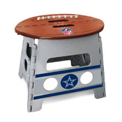 NFL - Dallas Cowboys Folding Step Stool 14x13