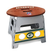 NFL - Green Bay Packers Folding Step Stool 14x13