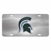 Michigan State University Diecast License Plate 12X6