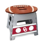 University of Oklahoma Folding Step Stool 14x13