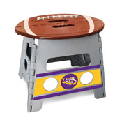 Louisiana State University Folding Step Stool 14x13