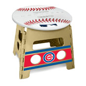 MLB - Chicago Cubs Folding Step Stool 14x13