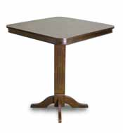 Imperial Pub Table, Antique Walnut