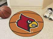 Louisville Basketball Mat 27 diameter
