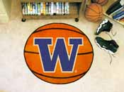 Washington Basketball Mat 27 diameter