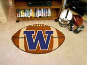 Washington Football Rug 20.5x32.5