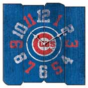 Chicago Cubs Square Vintage Wall Clock