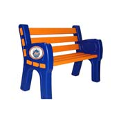 New York Mets Park Bench