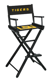 Louisiana State University Directors Chair-Bar Height