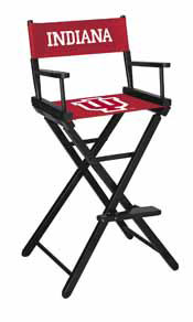 Indiana University Directors Chair-Bar Height