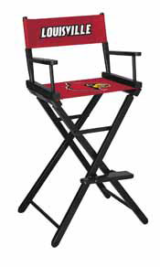 University of Louisville Directors Chair-Bar Height
