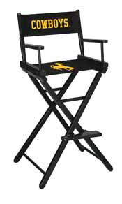 University of Wyoming Directors Chair-Bar Height