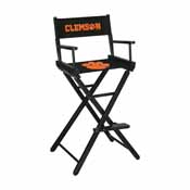 Clemson University Directors Chair-Bar Height