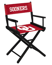 University of Oklahoma Directors Chair-Table Height