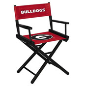 University of Georgia Directors Chair-Table Height