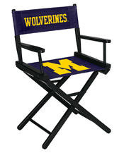University of Michigan Directors Chair-Table Height
