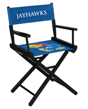 University of Kansas Directors Chair-Table Height
