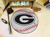 Georgia Baseball Mat 27 diameter