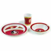 Florida State Seminoles Kid's 3 Pc. Dish Set