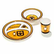 Missouri Tigers Kid's 3 Pc. Dish Set